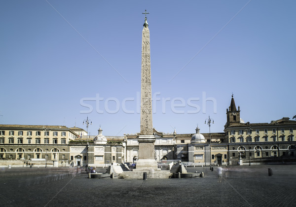 Róma központi kilátás épület város utca Stock fotó © deyangeorgiev