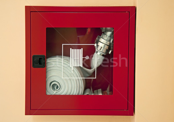 Fire hose Stock photo © deyangeorgiev