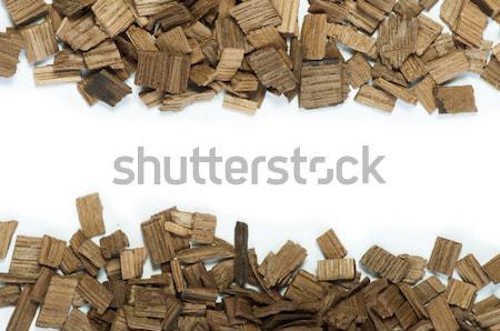 Wooden pieces Stock photo © deyangeorgiev