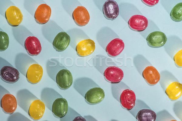 Candy scattered Stock photo © deyangeorgiev