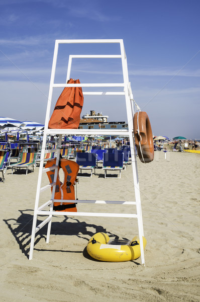 Safety equipment on the beach Stock photo © deyangeorgiev