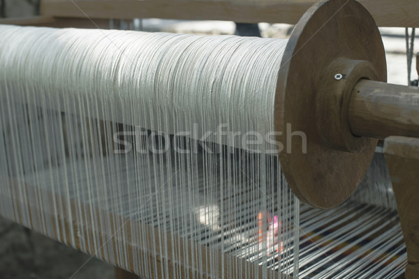 Vintage loom Stock photo © deyangeorgiev