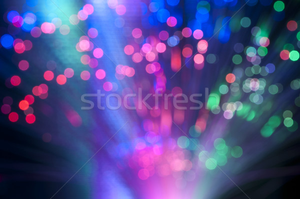 Boke festive lights Stock photo © deyangeorgiev