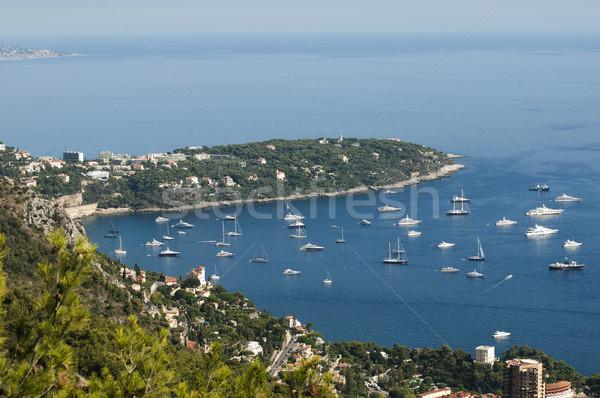 Vue Monaco beaucoup eau mer bleu Photo stock © deyangeorgiev
