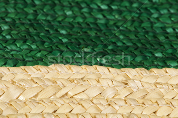 Woven straw background Stock photo © deyangeorgiev