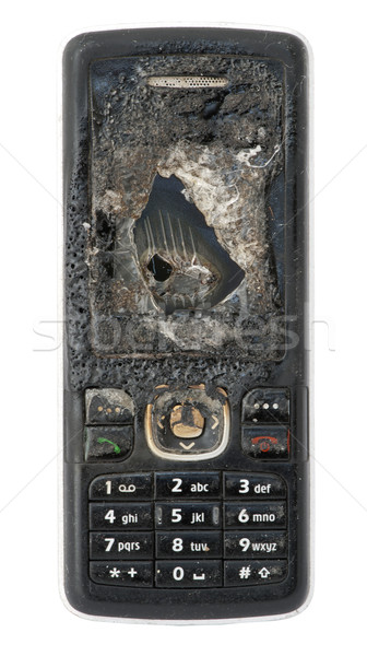 Burned GSM Stock photo © deyangeorgiev