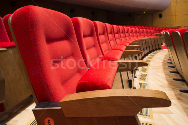 Seats in a theater and opera Stock photo © deyangeorgiev