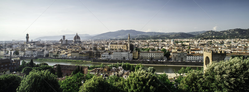 Stock photo: Panoramic view of Florence