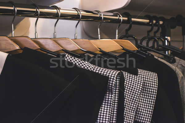 Vestiti shop moda mercato store Foto d'archivio © deyangeorgiev