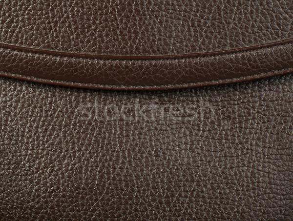 Background of real leather Stock photo © deyangeorgiev