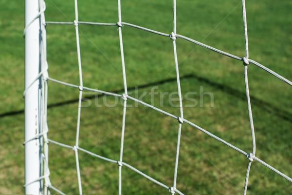 Football net Stock photo © deyangeorgiev