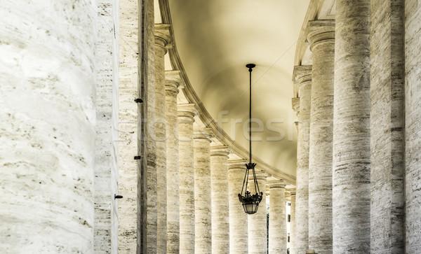 Stock fotó: Vatikán · Róma · építészeti · részletek · égbolt · épület