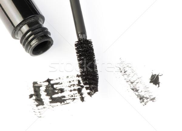 Smink fehér izolált mázgás papír nők Stock fotó © deyangeorgiev