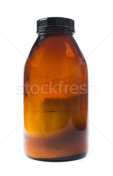 ガラス 化学品 暗い 透明な 医療 健康 ストックフォト © deyangeorgiev