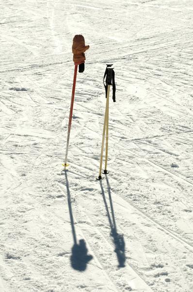Sí leragasztott hó sport kék fehér Stock fotó © deyangeorgiev