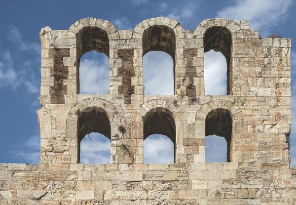 Partenón Atenas nuevos diferente perspectiva Grecia Foto stock © deyangeorgiev