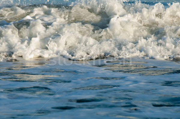Waves closeup Stock photo © deyangeorgiev