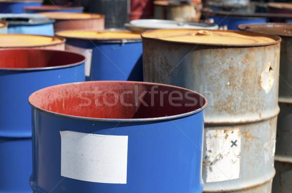 старые нефть продукции пусто Сток-фото © deyangeorgiev