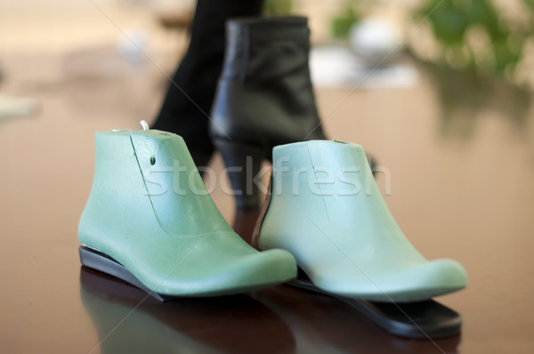 Mold for making shoes Stock photo © deyangeorgiev