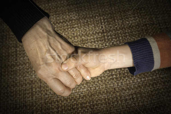 Two hands caught Stock photo © deyangeorgiev