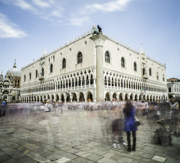 Square San Marco in Venice Stock photo © deyangeorgiev