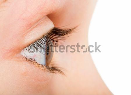 Humanismo olho perfil cor Foto stock © deyangeorgiev