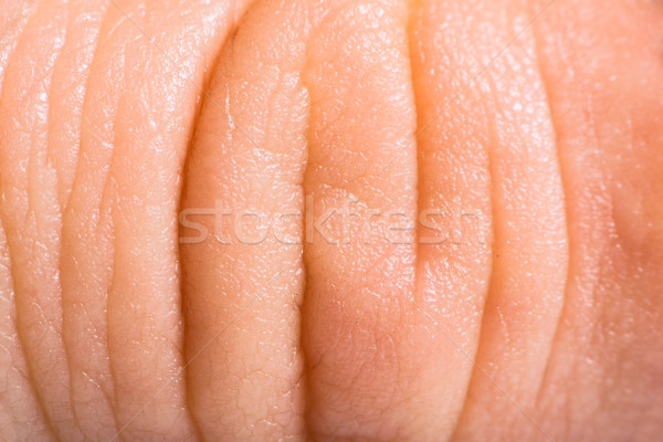 Close up human skin. Macro epidermis  Stock photo © deyangeorgiev