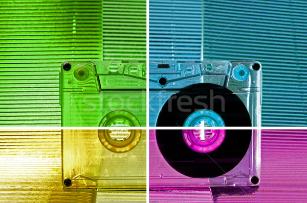 Cassette tape Stock photo © deyangeorgiev