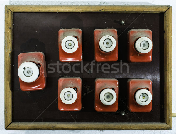 Vintage electrical fuse Stock photo © deyangeorgiev