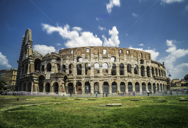 The Colosseum in Rome Stock photo © deyangeorgiev
