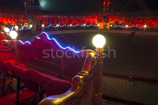 Circus arena interior Stock photo © deyangeorgiev