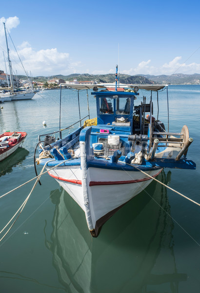 Fishing boats in Greece. Stock photo © deyangeorgiev