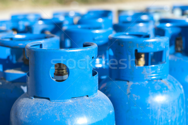 Blue gas balloons Stock photo © deyangeorgiev