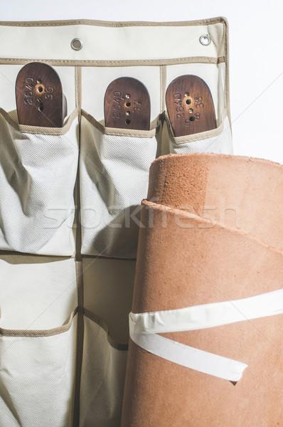 Making shoes Stock photo © deyangeorgiev