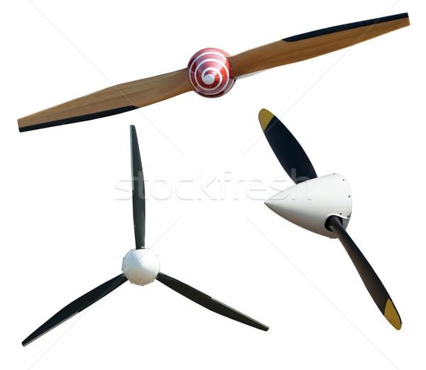 Airplane propeller Stock photo © deyangeorgiev