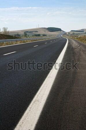 Brand new Highway Stock photo © deyangeorgiev