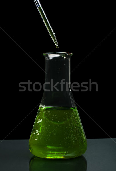 Laboratory glassware equipment Stock photo © deyangeorgiev