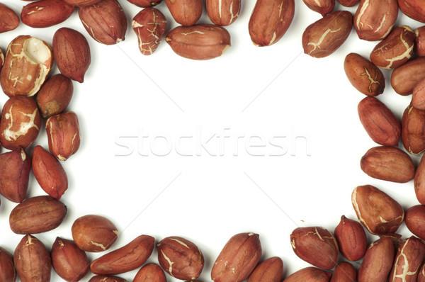 Raw shelled peanuts Stock photo © deyangeorgiev
