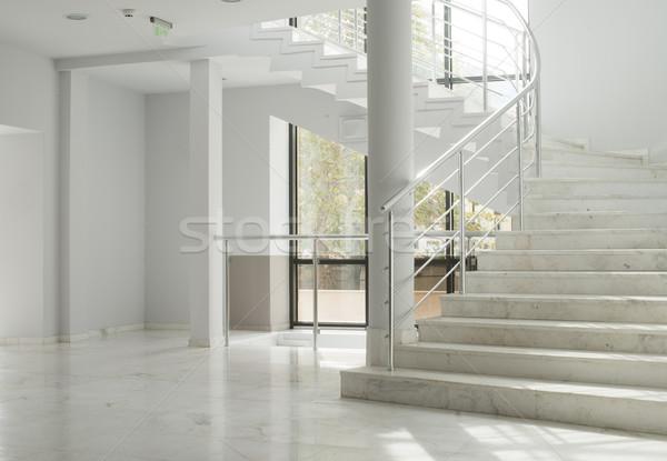 Stockfoto: Interieur · gebouw · witte · muren · kleur · vlucht