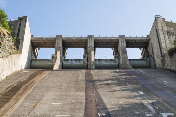 Hydroelectric power station Stock photo © deyangeorgiev