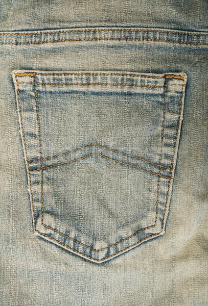 Jeans back blue pocket Stock photo © deyangeorgiev