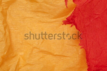 古い 紙 オレンジ 背景 スペース 色 ストックフォト © deyangeorgiev