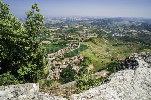 высокий мнение Сан-Марино лет время зеленый Сток-фото © deyangeorgiev