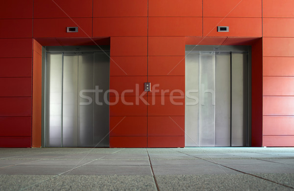 Two elevators Stock photo © deyangeorgiev