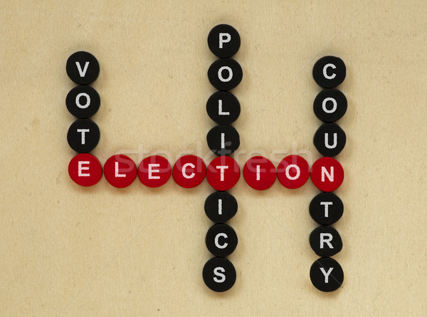 Elections conception texts Stock photo © deyangeorgiev