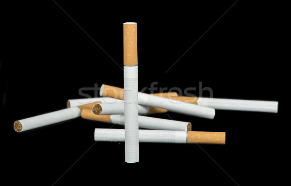 сигарету передний план многие сигареты здоровья пакет Сток-фото © deyangeorgiev