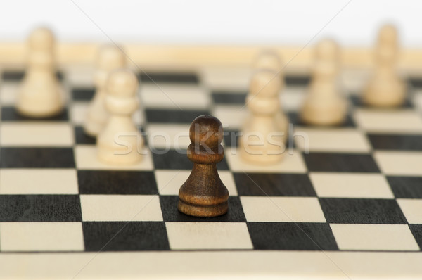 Concept of uniqueness and leadership Stock photo © deyangeorgiev