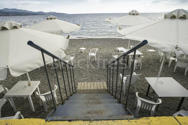 Bar on the beach Stock photo © deyangeorgiev