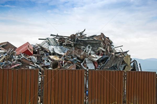 Scrap metal Stock photo © deyangeorgiev