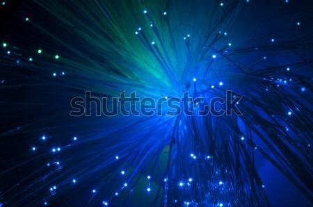 Optical fibers Stock photo © deyangeorgiev